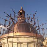ساخت گنبد های ساختمانی